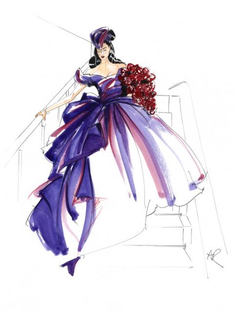 платья эскизы