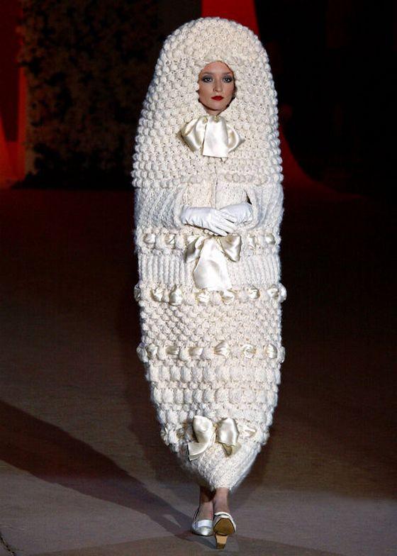 платья вязаные