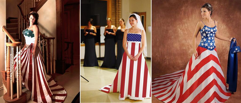 платья флаги