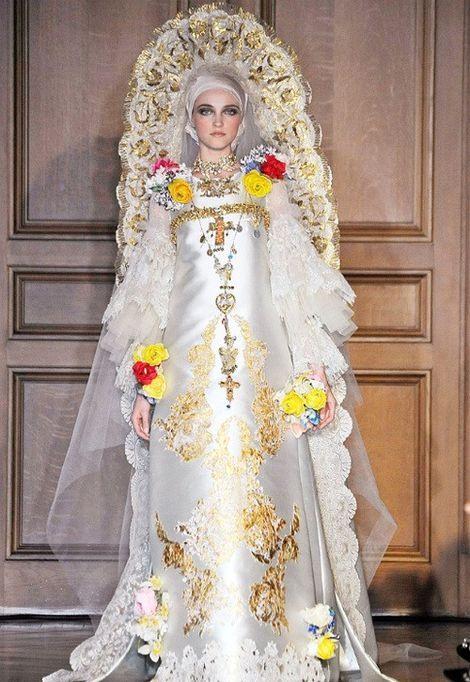 платья с кокошником