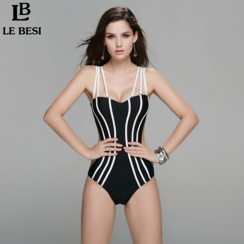 2015-New-summer-style-one-piece-swimsuit-for-women-plus-size-triangle-push-up-swimwear-free