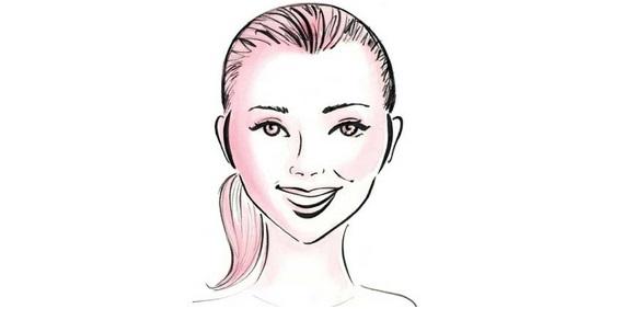 выбрать очки для сердцевидной формы лица