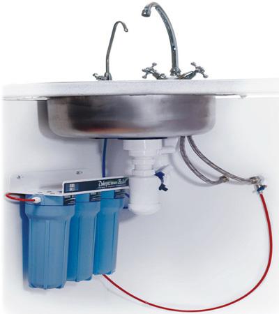 Вода. Проточный фильтр